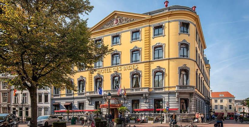 Отель Des Indes в Гааге (Нидерланды)