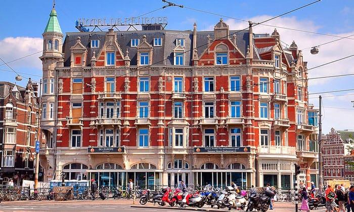 Отель De l'Europe в Амстердаме
