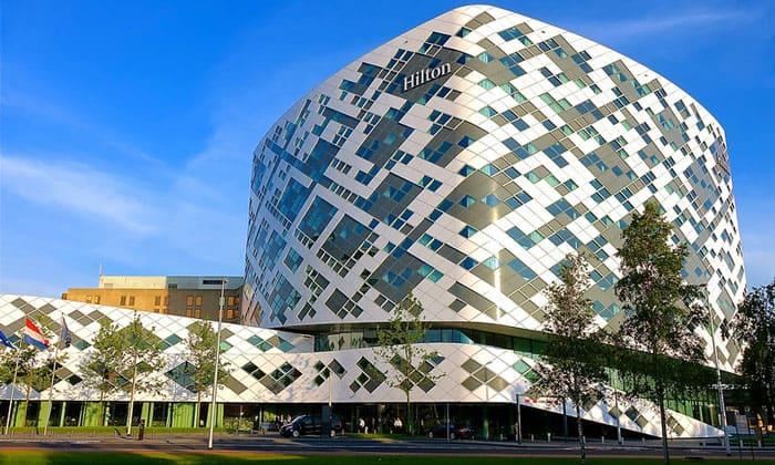 Отель Hilton в аэропорту Амстердама