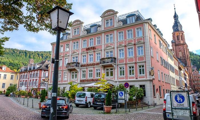Отель Hollander Hof в Гейдельберге