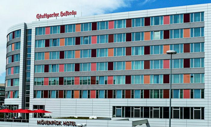 Отель Movenpick в Штутгарте