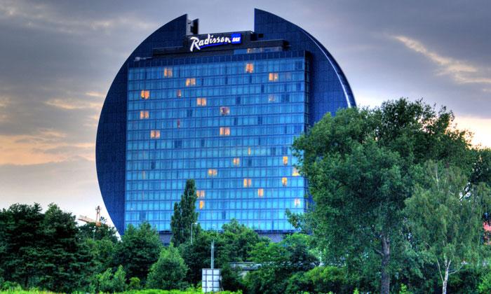 Отель «Radisson» во Франкфурте