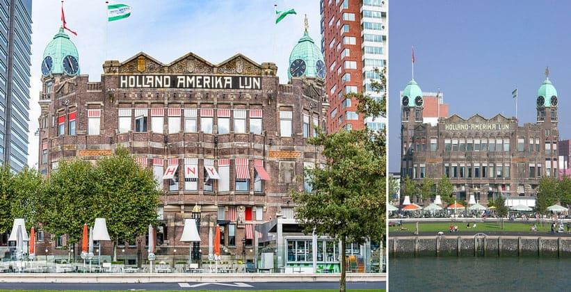 Отель-ресторан Нью-Йорк в Роттердаме