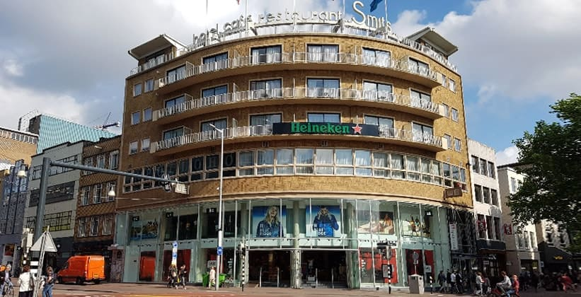 Отель Smits в Утрехте (Нидерланды)