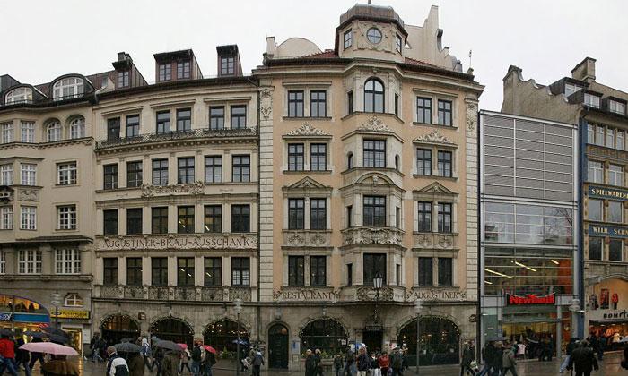 Паб «Augustiner-Brau» в Мюнхене