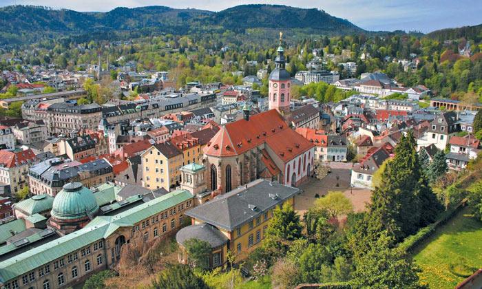 Панорама Баден-Бадена