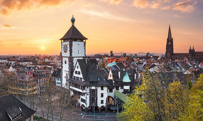 Панорама Фрайбурга