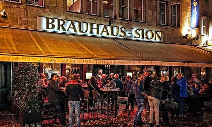 Пивная Brauhaus-Sion в Кёльне