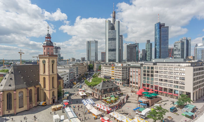 Площадь Гауптвахта во Франкфурте