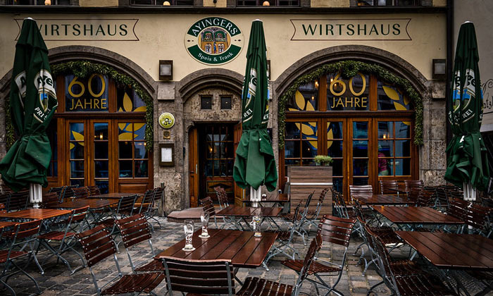Паб Ayingers в Мюнхене