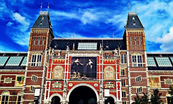 Художественный музей (Рейксмузеум) в Амстердаме