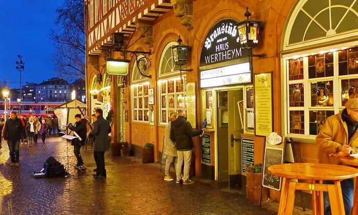 Ресторан Braustubl во Франкфурте