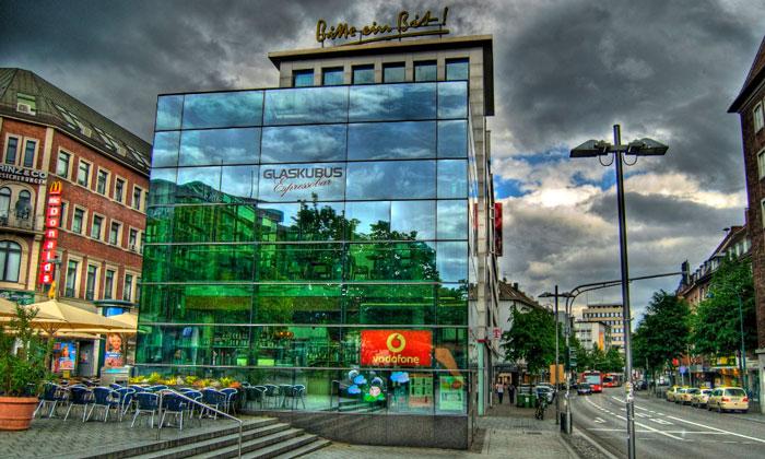 Бар-ресторан Glaskubus в Ахене