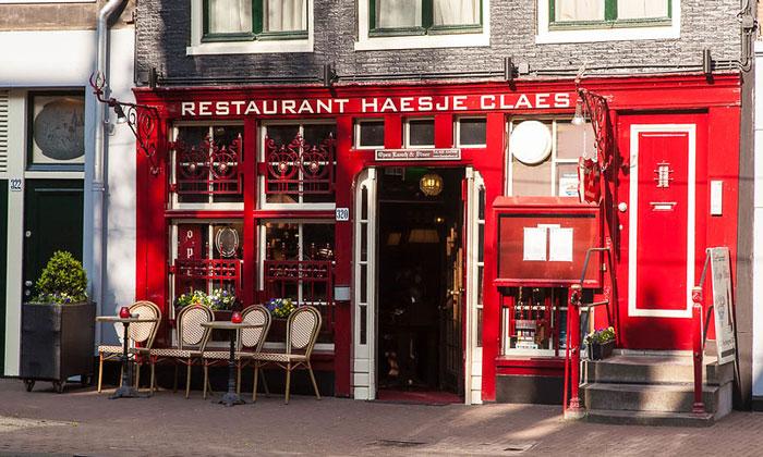 Ресторан Haesje Claes в Амстердаме
