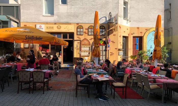 Ресторан «Kish Persisches» во Франкфурте