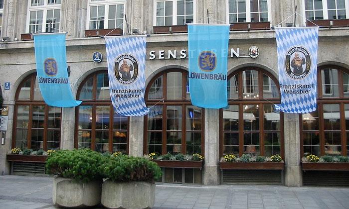 Ресторан «Lowenbrau» в Мюнхене