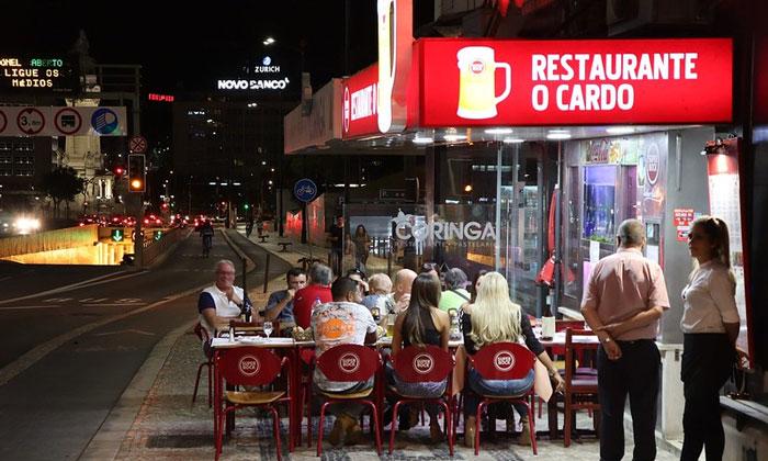 Ресторан Cardo в Лиссабоне