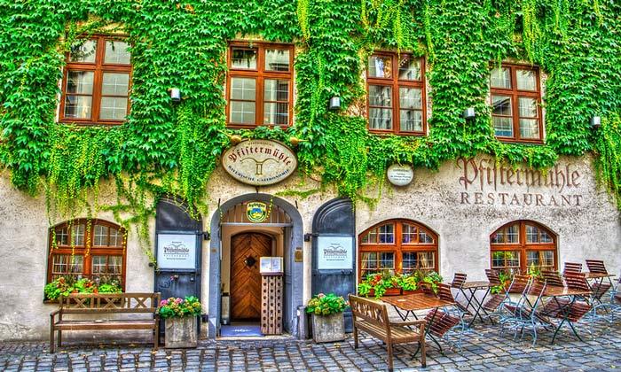 Ресторан Pfiftermuble в Мюнхене