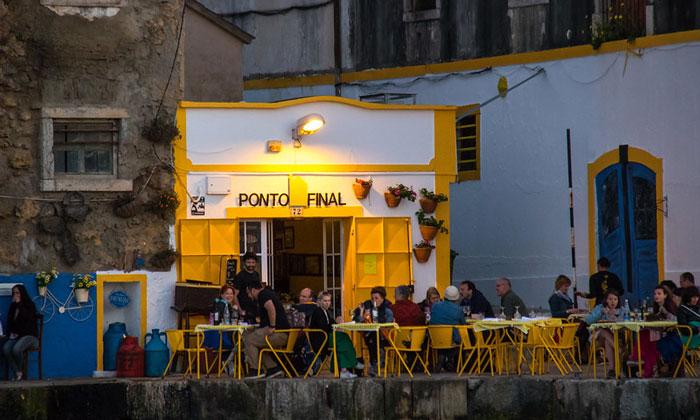 Ресторан Ponto Final в Лиссабоне