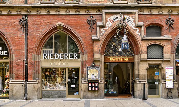 Ресторан «Ratskeller» в Мюнхене