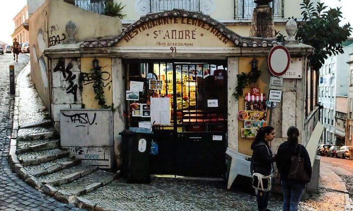 Ресторан Santo Andre в Лиссабоне