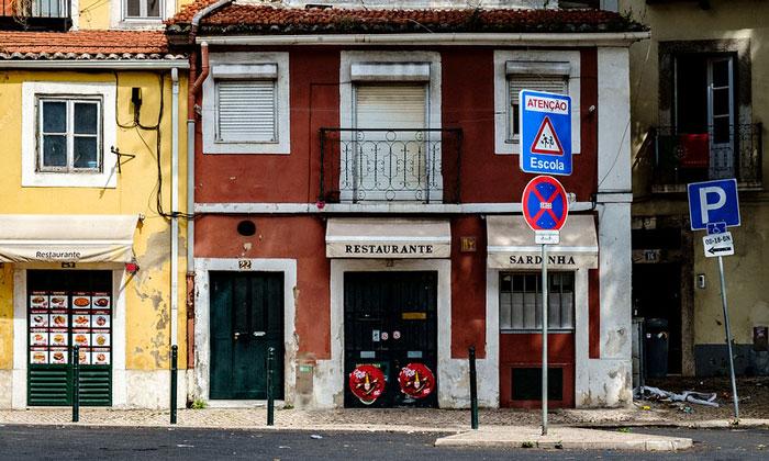 Ресторан Sardinha в Лиссабоне