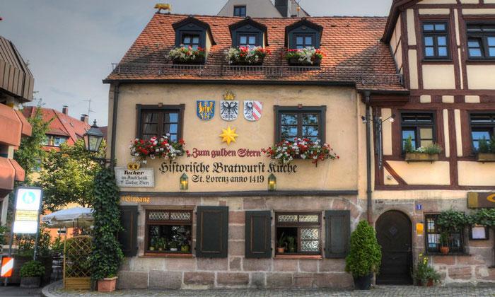 Ресторан Zum Gulden Stern в Нюрнберге