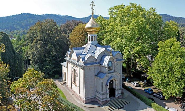 Русская церковь Преображения Господня в Баден-Бадене