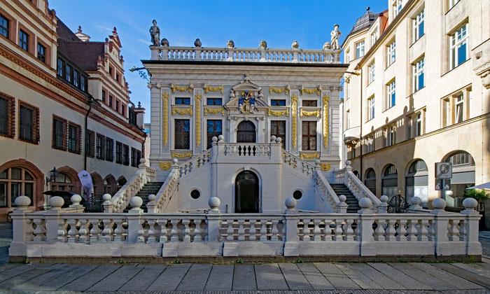 Краеведческий музей (Старая биржа) в Лейпциге