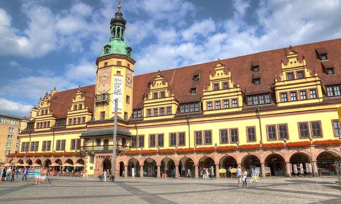 Музей истории (Старая ратуша) в Лейпциге