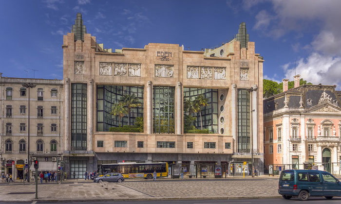 Отель (театр) Eden в Лиссабоне