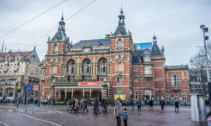 Городской театр (Stadsschouwburg) Амстердама