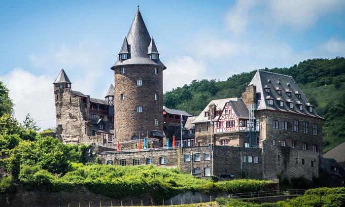 Замок Шталек (Рейнланд-Пфальц) в Бахарахе