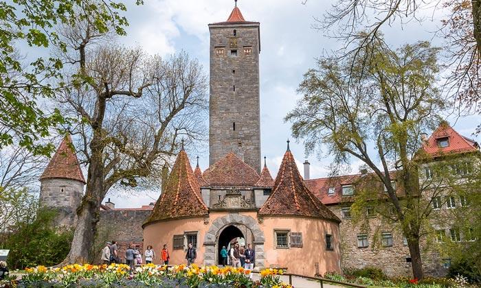 Западные городские ворота Ротенбурга