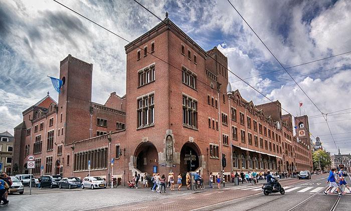 Заведение Beurs van Berlage в Амстердаме