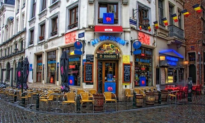 Бар Au Brasseur в Брюсселе