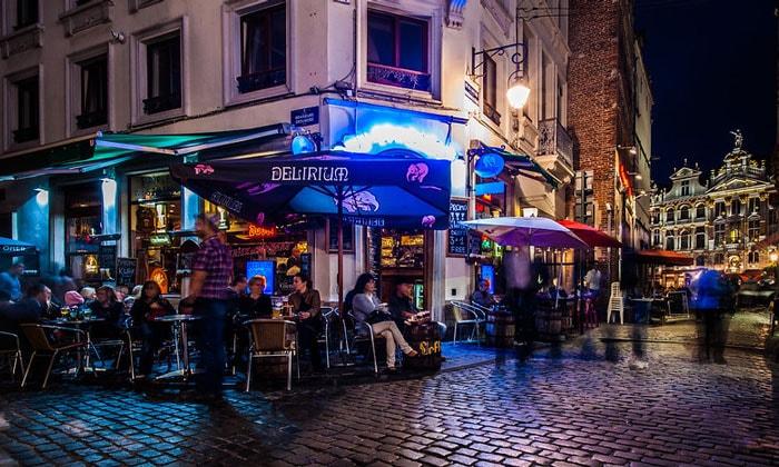 Бар Delirium в Брюсселе