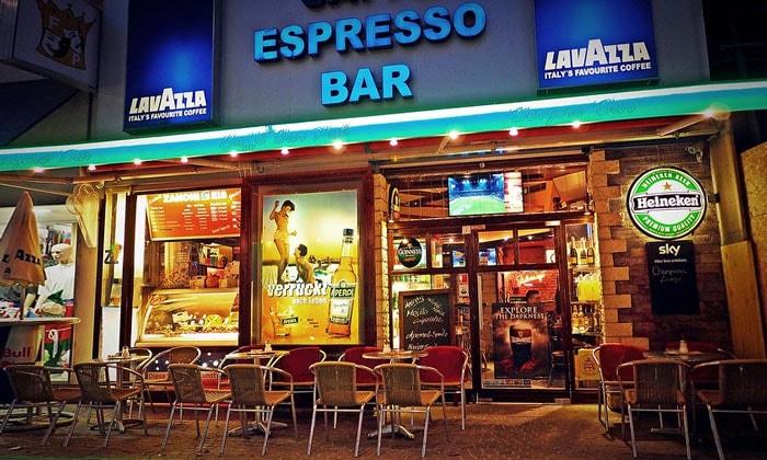 Бар Espresso в Вене