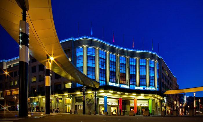 Центральный железнодорожный вокзал Брюсселя