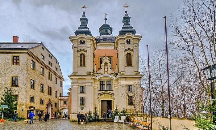 Церковь Христкиндль в городе Штайр