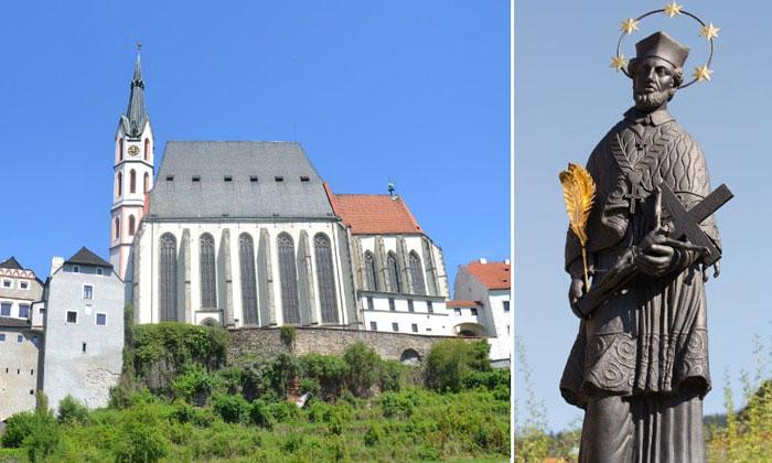 Церковь Святого Вита в городе Чески-Крумлов