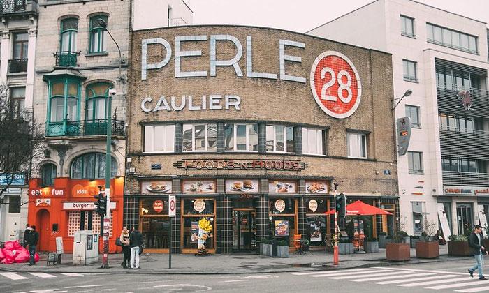 Ресторан быстрого питания Perle в Брюсселе