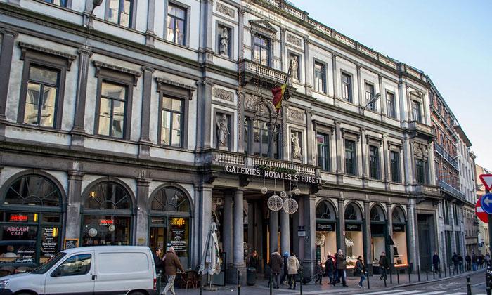 Королевские галереи (торговый центр) Святого Юбера в Брюсселе