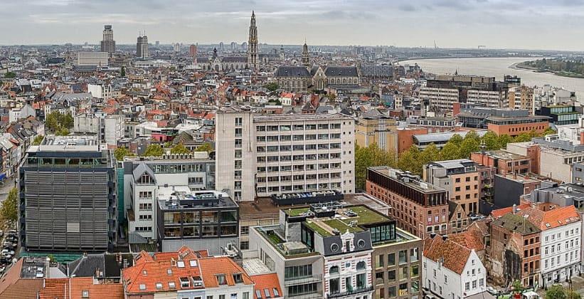 Город Антверпен в Бельгии