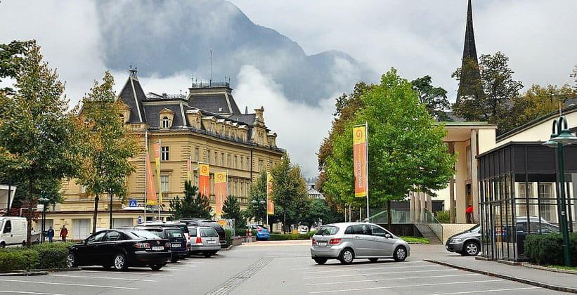 Город Бад-Ишль в Австрии