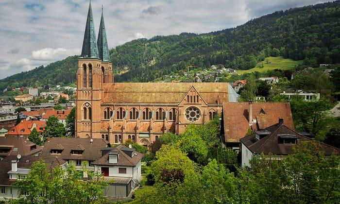 Церковь Святейшего Сердца в городе Брегенц