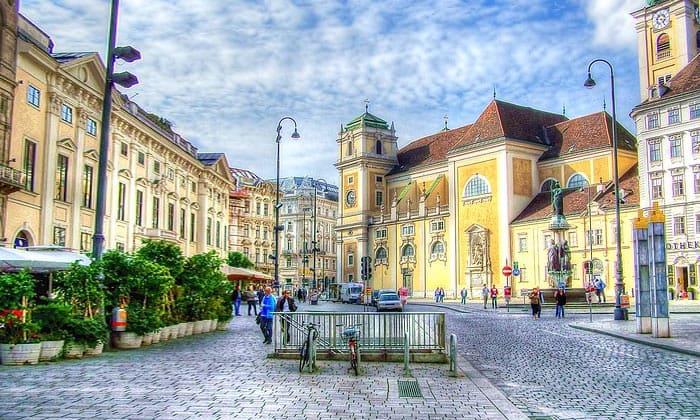 Городские красоты Вены