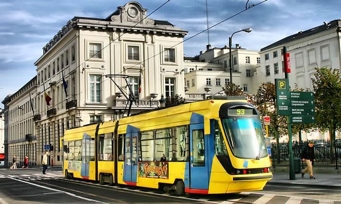 Городской трамвай Брюсселя
