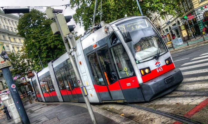 Городской трамвай Вены