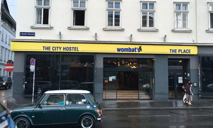 Хостел Wombat's в Вене